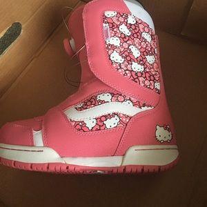 Hello Kitty Snowboard Boots